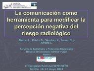 herramienta para modificar la percepción negativa del riesgo radiológico