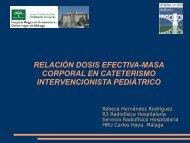 relación dosis efectiva-masa corporal en cateterismo ...