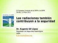 Las radiaciones también contribuyen a la seguridad
