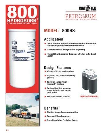 PETROLEUM - Cim-Tek® Filtration