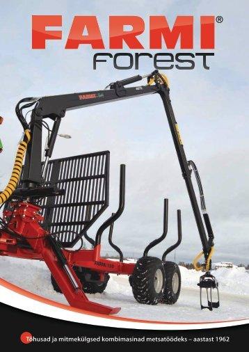 Tõhusad ja mitmekülgsed kombimasinad metsatöödeks – aastast 1962