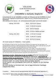 JAKOARENA in Karlsruhe-Stupferich