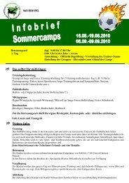 Infobrief Sommercamps 2010[1] - JAKOarena