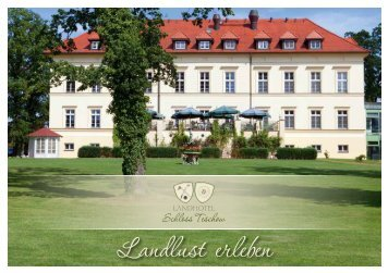 Prospekt Landhotel Teschow - Region Rostock Marketing Initiative ...