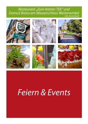 Feiern & Events - DomuS Bistro