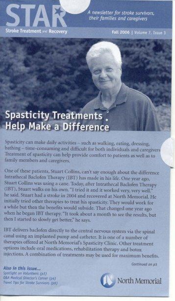 Spasticity .11eatnint' - Stroke Survivor