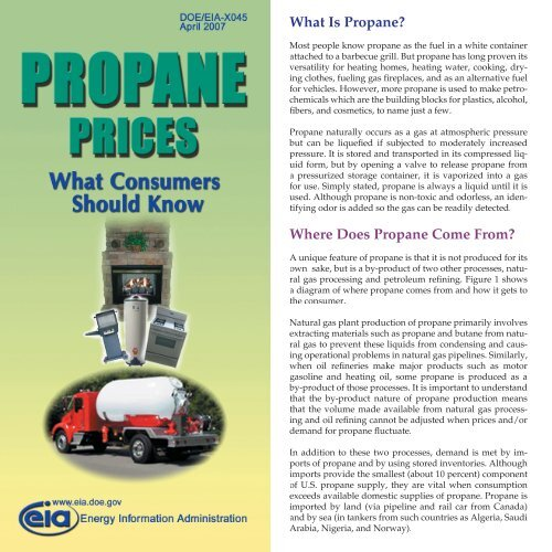 What Is Propane >> What Is Propane Where Does Propane Come From