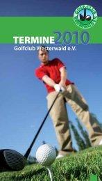 Golf-Reisen zu Top-Preisen! - Golfclub Westerwald