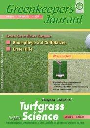 Turfgrass Science - Deutsche Rasengesellschaft