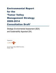 Environmental report for the Tamar Valley 2009-2014 - Plymouth ...