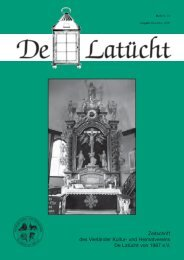des Vierländer Kultur- und Heimatvereins De Latücht von 1987 e.V