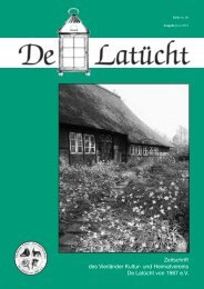 Zeitschrift des Vierländer Kultur- und Heimatvereins De Latücht von 1987 e.V