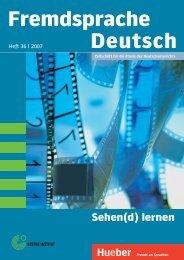 Fremdsprache Deutsch Sehen(d) lernen