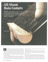 About Rain Gutters - DICO Inspects