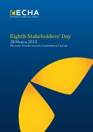 Eighth Stakeholders' Day
