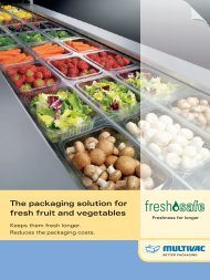 The packaging solution for fresh fruit and vegetables