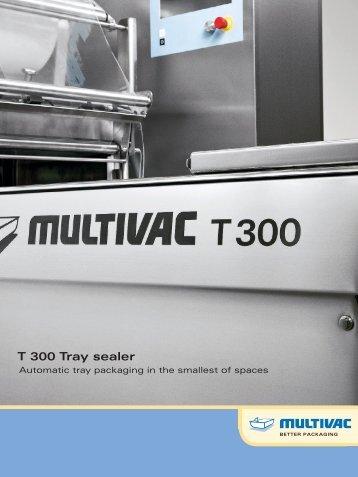 T 300 Tray sealer