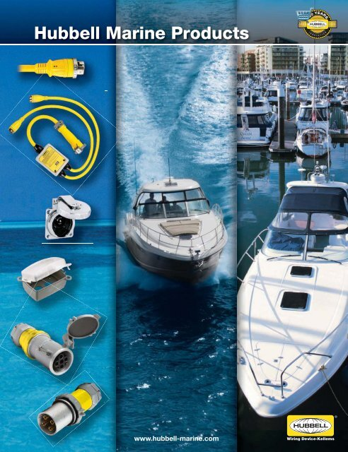 HUBBELL HBL63CM64 50 AMP 125//250 VOLT Twist Lock STAINLESS STEEL Plug NEW Marine