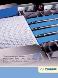 Channelising system MBS 080 / 100 / 200 / 300 / 600