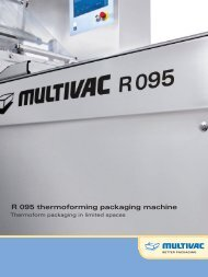 R 095 thermoforming packaging machine