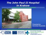 The John Paul II Hospital in Krakow