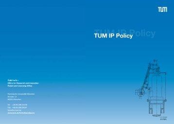 TUM IP Policy