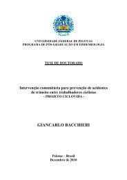 GIANCARLO BACCHIERI