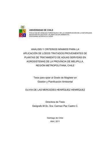 Henriquez Olivia.pdf - Magíster en Gestión y Planificación Ambiental