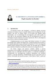 el método en la investigación jurídica - Derecho y Cambio Social
