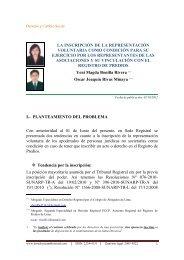 MEMORANDUM Nº -2007-SUNARP-Z - Derecho y Cambio Social