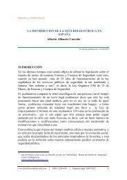 La seguridad pública en España - Derecho y Cambio Social