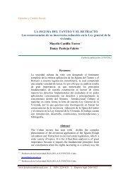 la figura del tanteo y el retracto - Derecho y Cambio Social