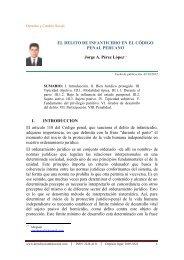 el delito de infanticidio en el código penal peruano - Derecho y ...