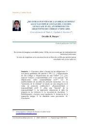 Â¿De otras fuentes de las obligaciones - Derecho y Cambio Social
