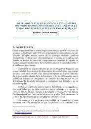 UNIVERSIDAD CAMILO JOSE CELA - Derecho y Cambio Social