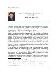 situación del gobierno electrónico en el perú - Derecho y Cambio ...