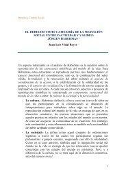 el derecho como categoría de la mediación social entre facticidad y ...