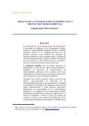 Título: Impacto de la contratación económica en la protección ...