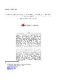 la responsabilidad estatal en el respeto al emblema de la cruz roja ...
