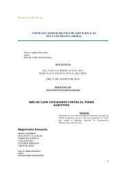 contrato administrativo de servicios (cas) - Derecho y Cambio Social
