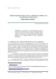 RESPONSABILIDAD PENAL DE LA PERSONA JURÍDICA EN EL ...