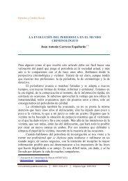 La evolución del periodista en el mundo criminológico - Derecho y ...