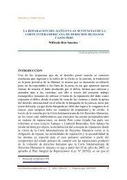 la reparacion del daño en las sentencias de la corte interamericana ...