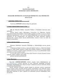 Muhasebe Müdürlüğü, Saymanlık Müdürlüğü, Mal ... - Maliye Bakanlığı
