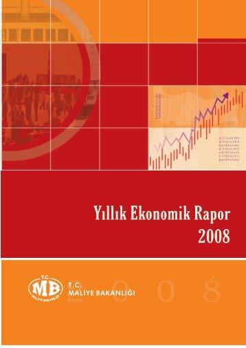 YILLIK EKONOMİK RAPOR 2008