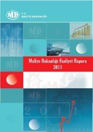 Maliye Bakanlığı 2011 Yılı Faaliyet Raporu