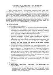 Maliye Bakanlığı Muhasebat Genel Müdürlüğü Sözleşmeli Bilişim ...