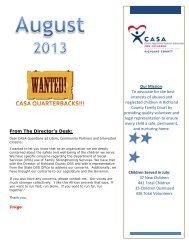 August - Richland County CASA