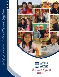 Aces Xavier Educational System