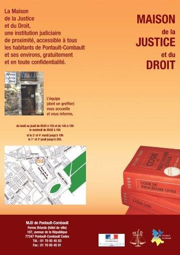 MAISON JUSTICE DROIT